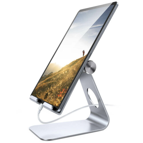 adjustable tablet stand s2 silver-1