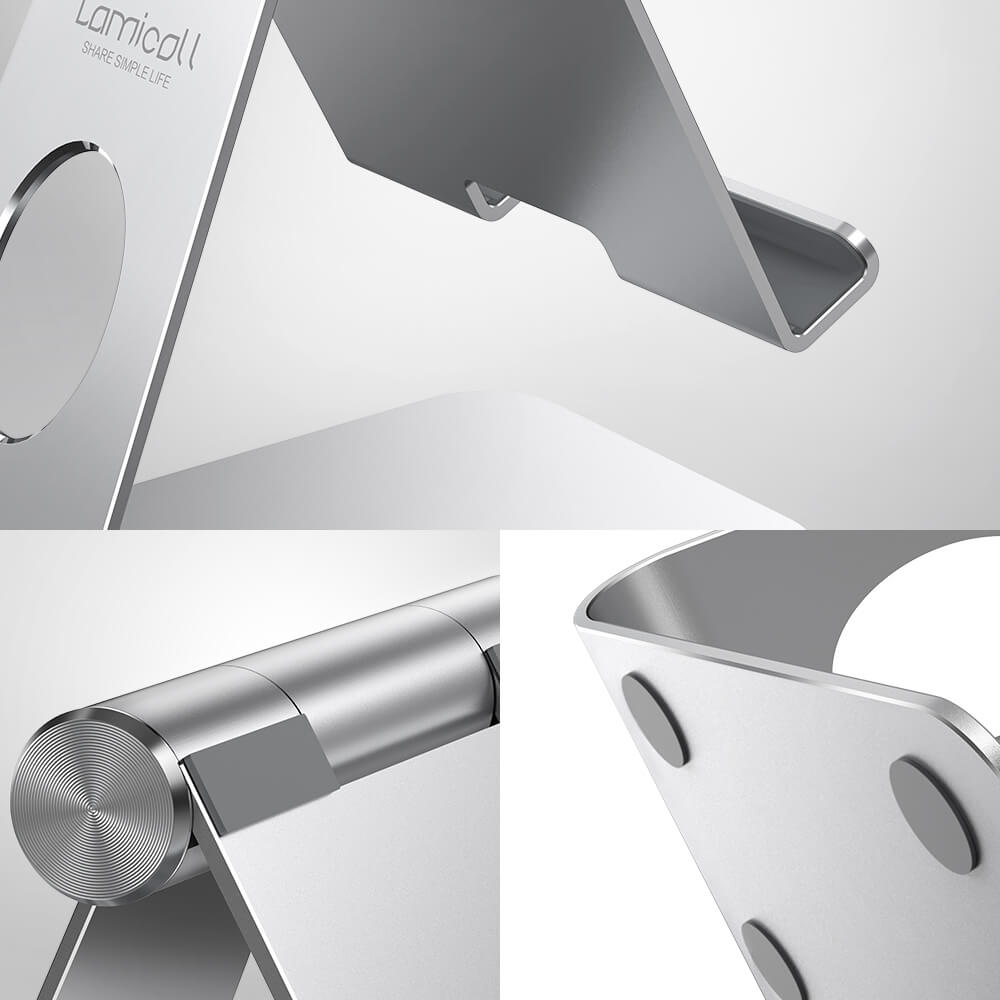 adjustable tablet stand s2 silver-6