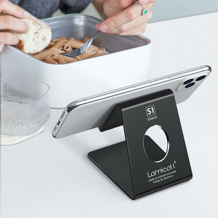 cell phone stand s1 black-2
