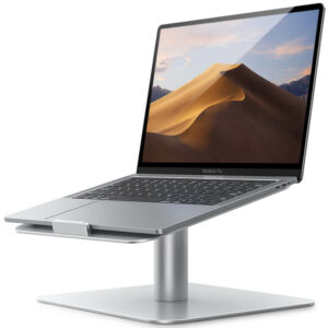 notebook stand L silver-1