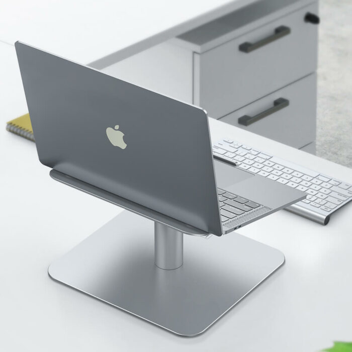 notebook stand L silver-2