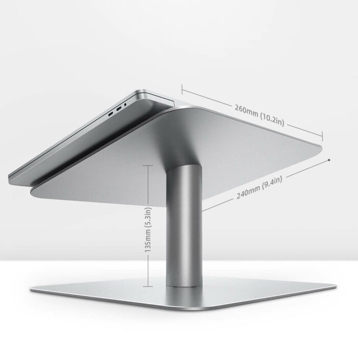 notebook stand L silver-7