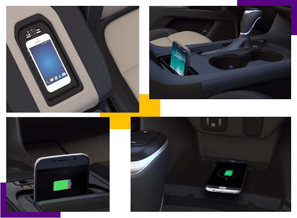 wireless chargers in cars