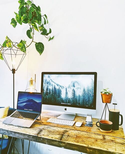 Lamicall home-office setup