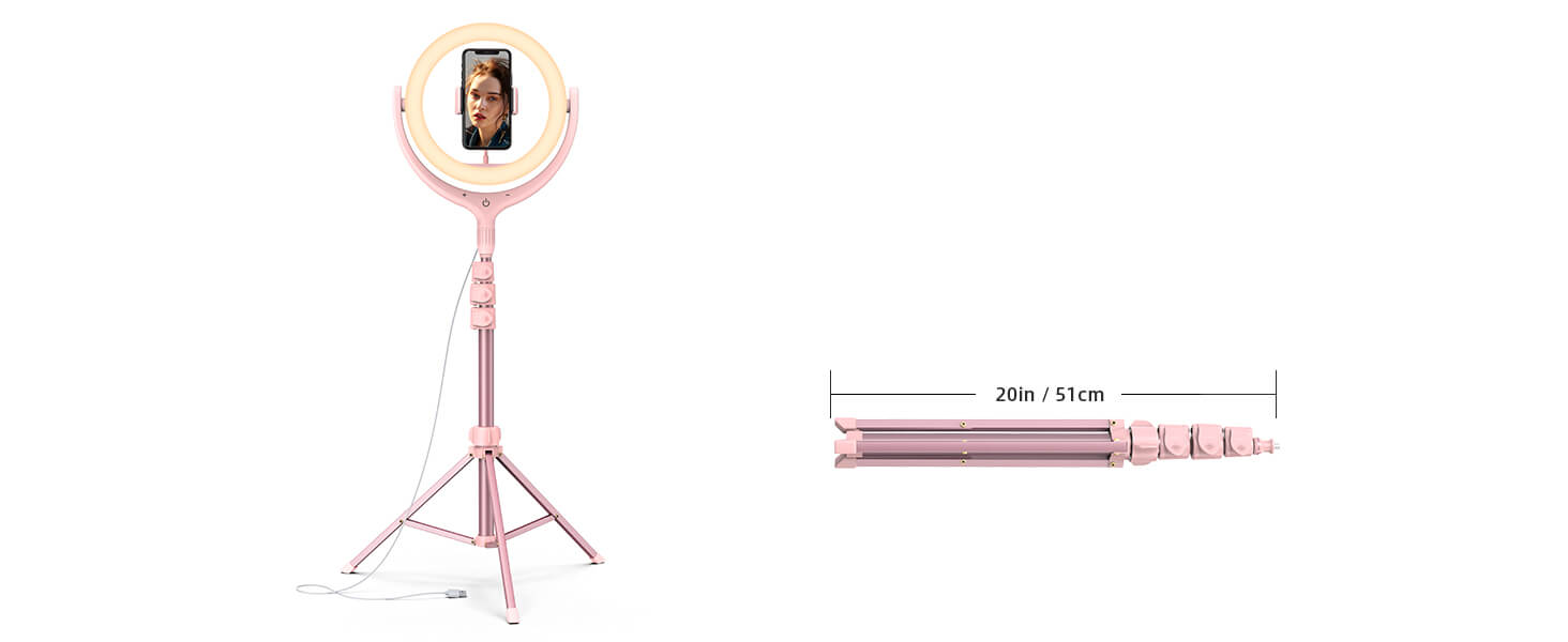 Selfie Ring Light with Tripod tp01 banner