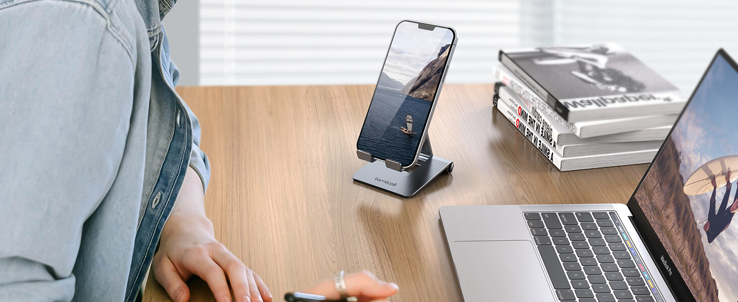 foldable cell phone stand dp01 banner