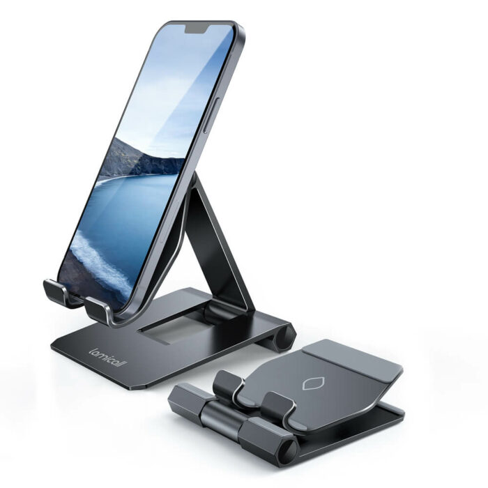 lamicall foldable phone stand DP01 black-1