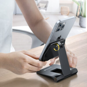 lamicall foldable phone stand DP01 black-2
