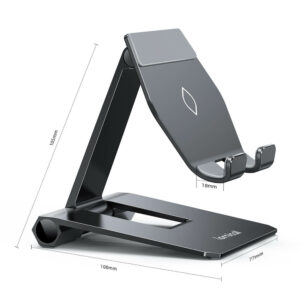 lamicall foldable phone stand DP01 black-6