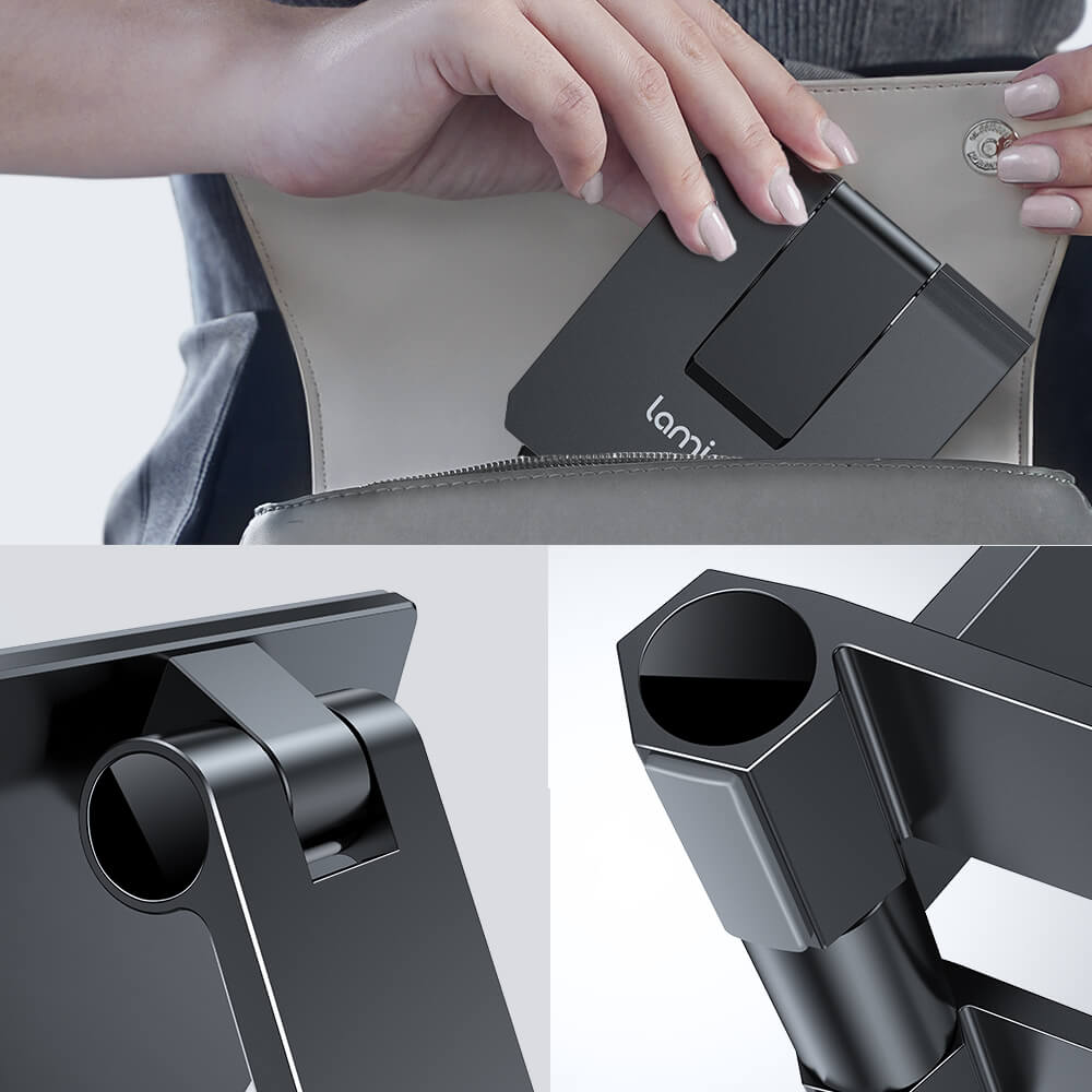 lamicall foldable phone stand DP01 black-7