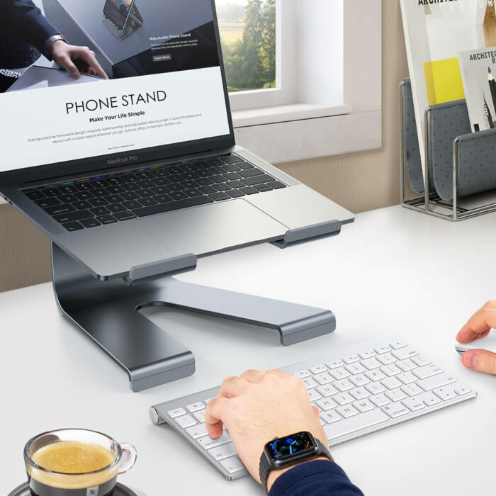 lamicall laptop Stand LN01 gray-2