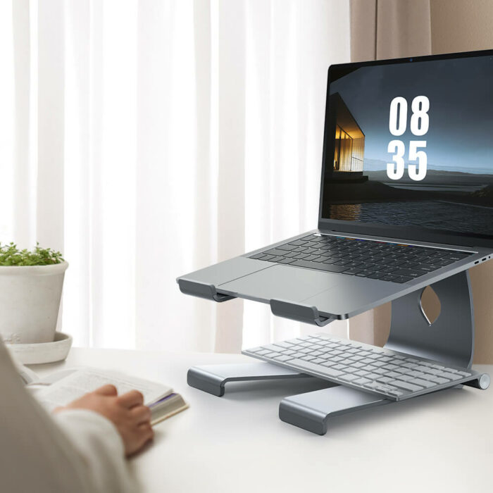 lamicall laptop Stand LN01 gray-3