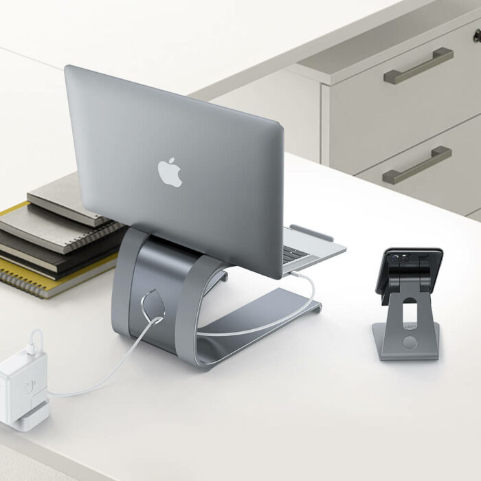 lamicall laptop Stand LN01 gray-4