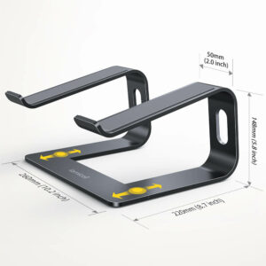 lamicall laptop stand LN08 black-5