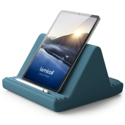 tablet pillow stand pl01 blackish green-1