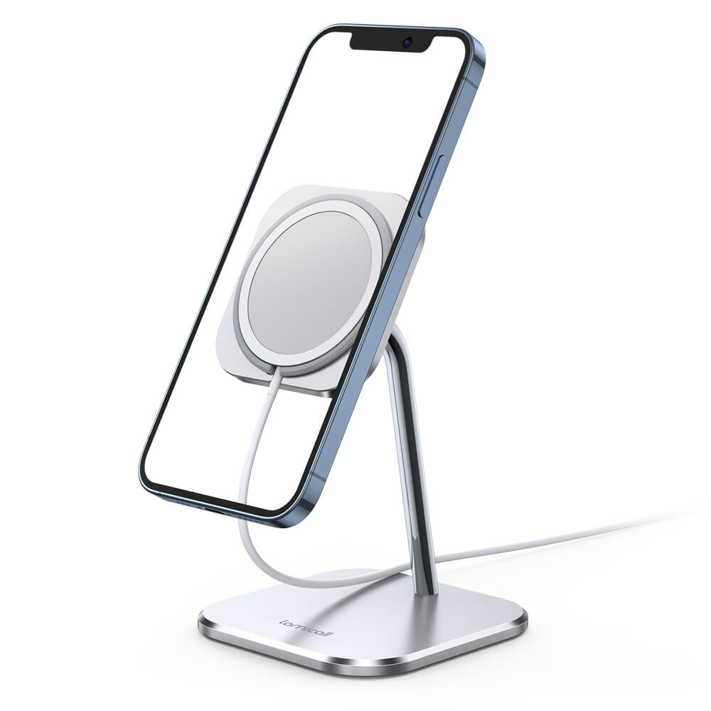 Adjustable Phone Stand for MagSafe Charger DP09 Silver 1