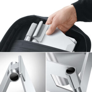 lamicall foldable tablet stand DT02 silver-6